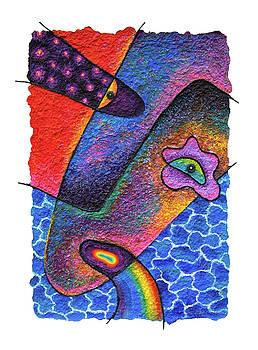 Rainbow on Sunday by Opas Chotiphantawanon