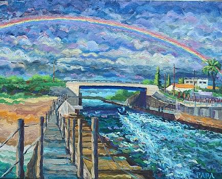 Rainbow Over Boynton 2016 by Ralph Papa