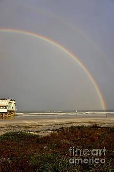 Rainbow over Daytona Beach by Timothy OLeary