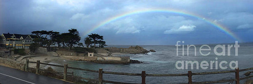 California Views Mr Pat Hathaway Archives - Rainbow over Lovers Point Pacific Grove 2015