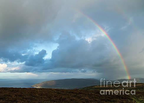 Rainbow over Porlock Hill by Andy Myatt