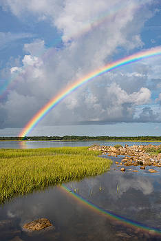 Image result for rainbow over the river Charleston sc