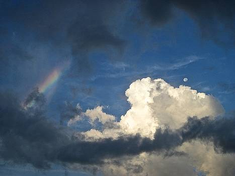 Rainbow over the Moon by Janet K Wilcox