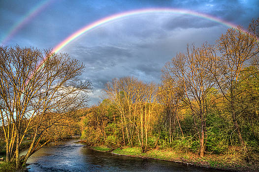 Debra and Dave Vanderlaan - Rainbow Over the River