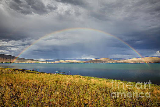 Rainbow Over Topaz Lake by Jeff Sullivan