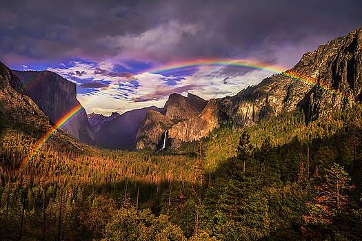 Rainbow over Yosemite by Andrew Soundarajan