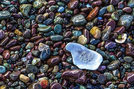 Rainbow Pebbles by Laura Roberts
