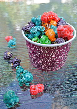 Rainbow popcorn by Amanda Letcavage