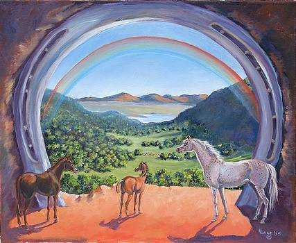 Rainbow Portal by Elizabeth Lane