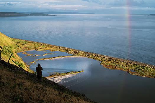 Mary Lee Dereske - Rainbow Reflection in the San Juan Islands