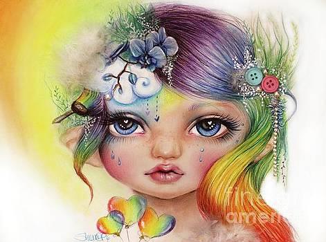 Rainbow Rosalie  by Sheena Pike