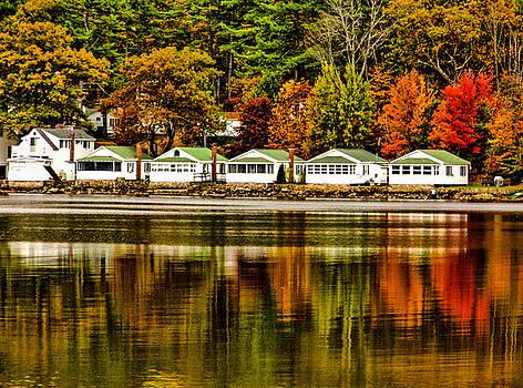 Rainbow Row - Newfound Lake by Naturally NH