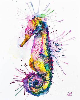 Zaira Dzhaubaeva - Rainbow Seahorse