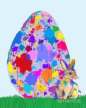 Nick Gustafson - Rainbow Speckled Egg