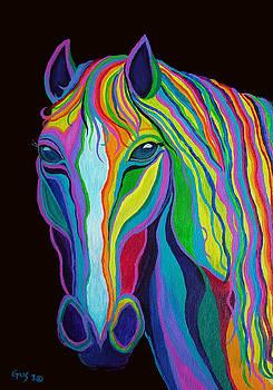 Nick Gustafson - Rainbow Stallion