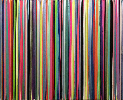 Rainbow stripe by Margalit Romano