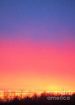 Rainbow Sunset by Kristi Beers-Mason