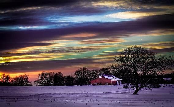 Melinda Martin - Rainbow Sunset