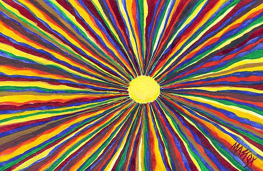 Rainbow Sunshine by Tim Mattox