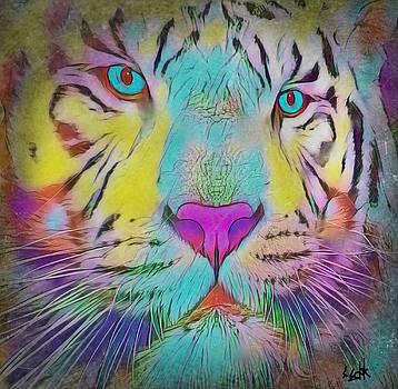 Rainbow Tiger by Susan Solak