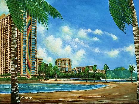 Rainbow Tower by Larry Geyrozaga