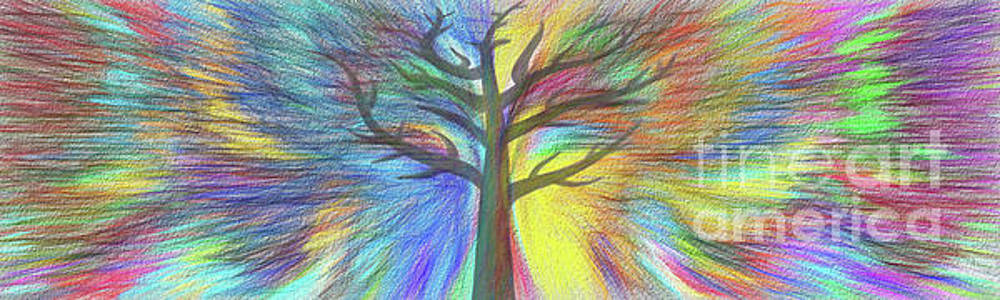 Rainbow Tree by Kaye Menner by Kaye Menner