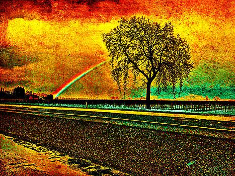 Rainbow Tree by Jennifer Cadence Spalding