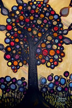 Rainbow Tree by Valentina Kross