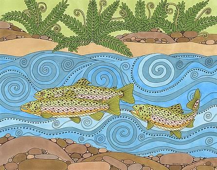 Rainbow Trout by Pamela Schiermeyer