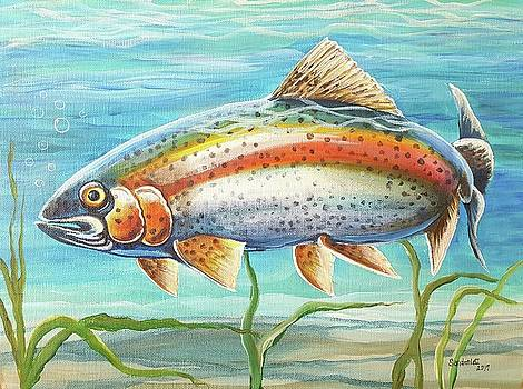 Rainbow Trout by Sandra Lett