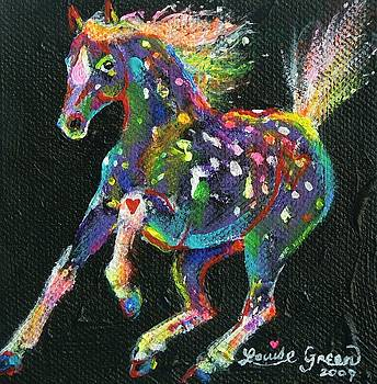 Raindrop Pony by Louise Green