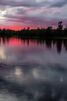 Raindrops At Sunset by Mary Amerman