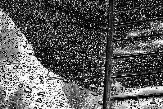 Raindrops on Shiny Metal - 2018 Christopher Buff, www.Aviationbuff.com by Chris Buff