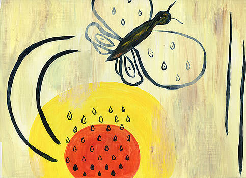 Raindrops on Whiskers on Sunbeams by Neliza Drew