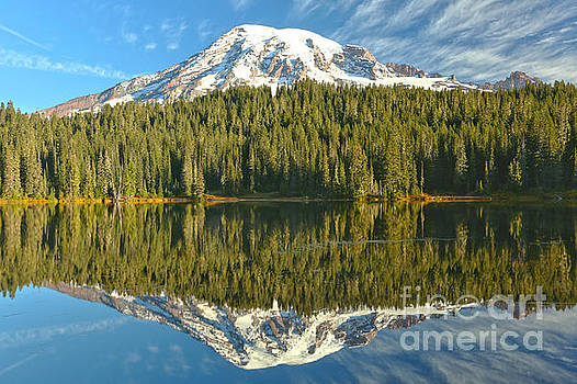 Adam Jewell - Rainier Cloud Reflections