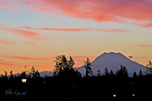Kate Lynch - Rainier Sunrise
