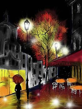 Raining and Color by Darren Cannell