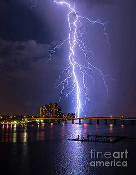 Raining Bolts 2 by Quinn Sedam