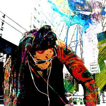 Raining Down   Creativity by Angela Holmes