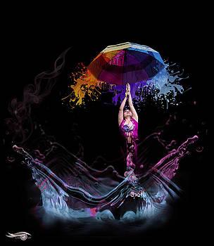 Raining Paint by Cmi Art