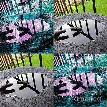 Rainwater Puddle Composite by John Gaffen