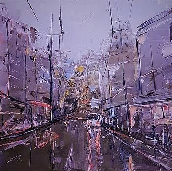 Rainy City by Rafal Kilimnik