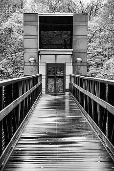 Rainy Day At Crystal Bridges by Steven Bateson
