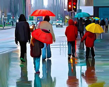Rainy Day by Ata Alishahi