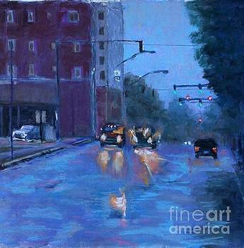 Rainy Day Fort Smith by Julie Mayser