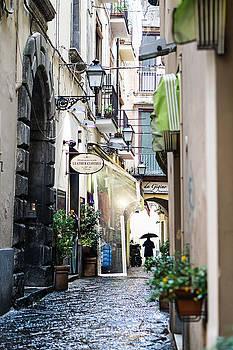 Rainy Day in Sorrento by Jaana Baker