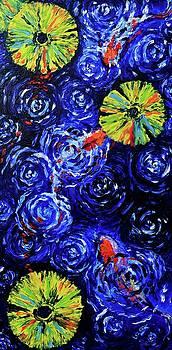 Rainy Day Koi by Elizabeth Cox