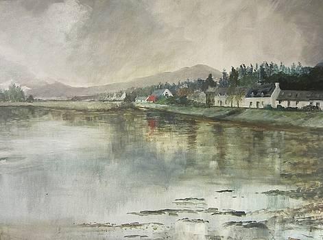 Rainy Day, Lochcarron by Cindie Reiter