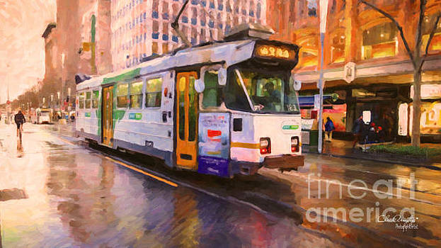 Rainy Day Melbourne by Chris Armytage