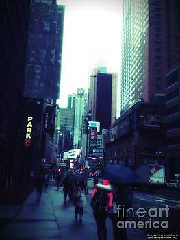 Rainy Day New York City by Rachel Maynard